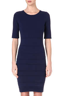 REISS Lugano stretch-jersey dress