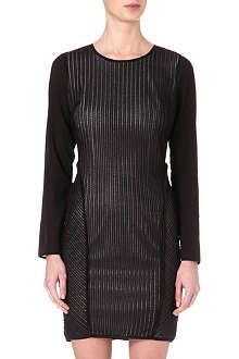 REISS Chloe panelled dress