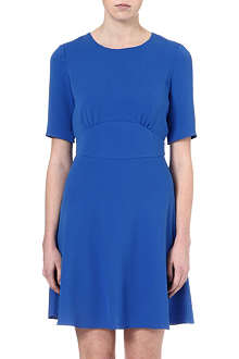 REISS Hedy crepe dress