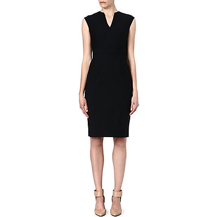 REISS Bianca dress (Black/white
