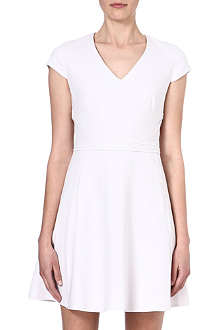 REISS Alsace panelled dress