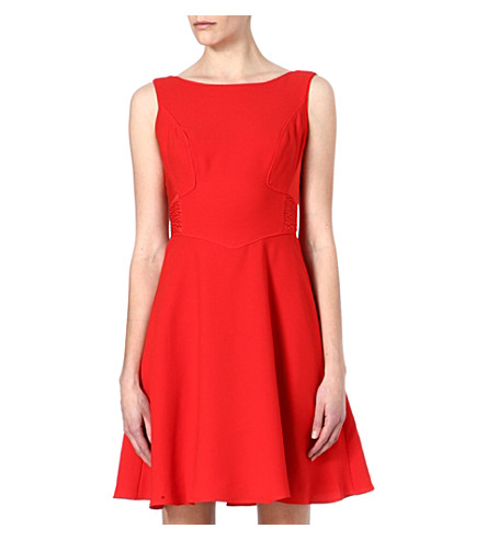 REISS Jade dress (Paprika