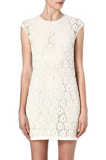 REISS Ciara swift lace dress