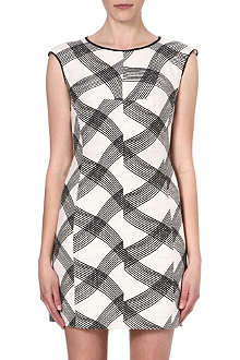 REISS Antibes printed dress