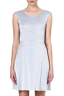 REISS Cole textured dress