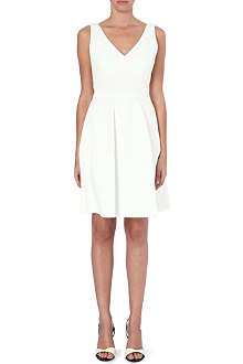 REISS Natalia panel fit and flare dress