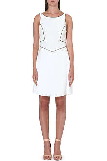 REISS Ray scoop-back dress