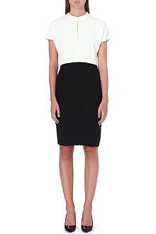 REISS Cipriano keyhole-detail dress