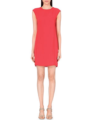 REISS Aura stitch-detail stretch dress