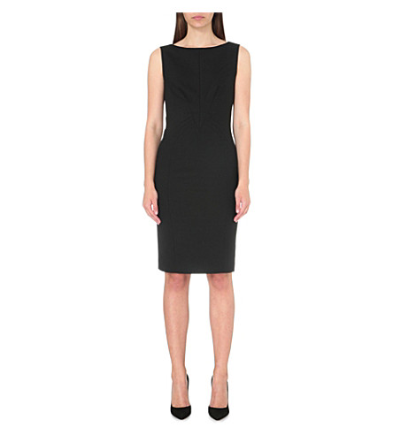 REISS Dartmouth wool-blend dress (Black