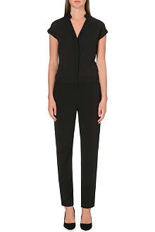 REISS Short sleeve shirt jumpsuit