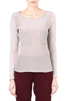 REISS Vicka pocket top