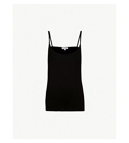 REISS Camellia jersey camisole (Black