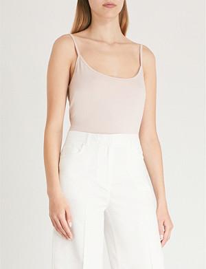 REISS Camellia jersey vest