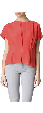 REISS Penny silk top