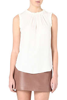 REISS Mimi textured top