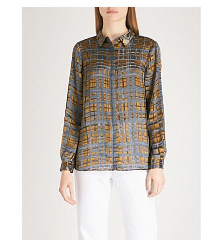 REISS blouse Multi Elisandra REISS devor blouse Elisandra devor Multi IqgORO