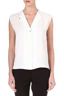 REISS Venetian sleeveless top
