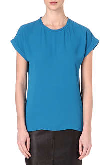 REISS Ellie crepe top