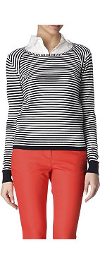 REISS Upton striped jumper