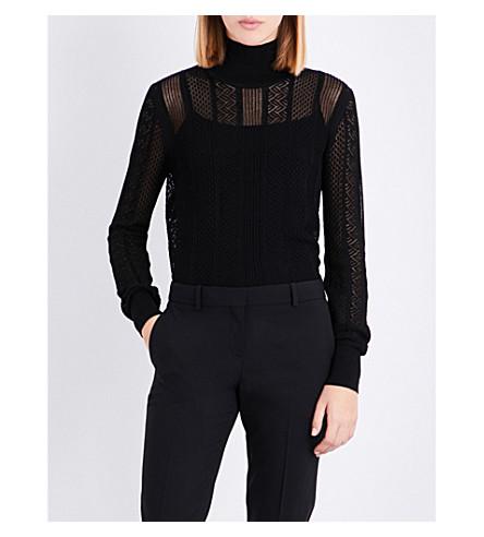 REISS Suki knitted jumper (Black