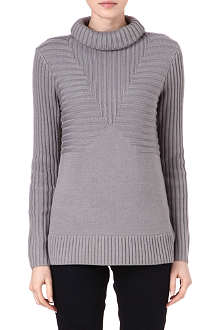 REISS Milford roll-neck jumper