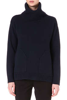 REISS Delo chunky wool jumper