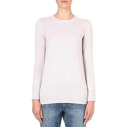 REISS Sledge crew-neck jumper (Grey