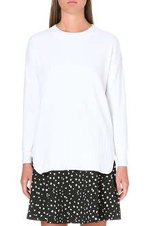 REISS Oversized rib jumper