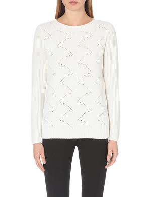 REISS Moss chunky-knit ribbed jumper