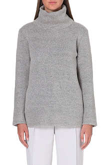 REISS Oversized turtleneck jumper