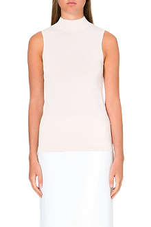 REISS High neck sleeveless knit