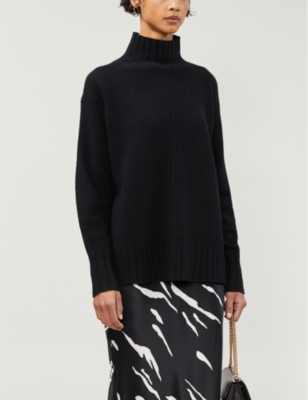 Bonnie wool-and-cashmere blend roll-neck jumper