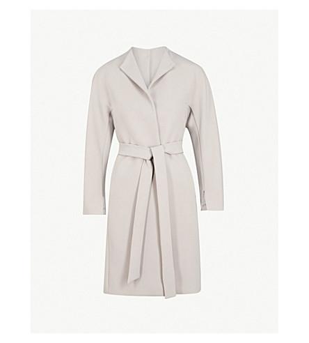 REISS Macy stretch-crepe coat (Chiffon