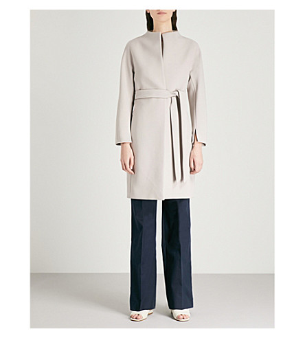REISS Macy stretch-crepe coat (Chiffon