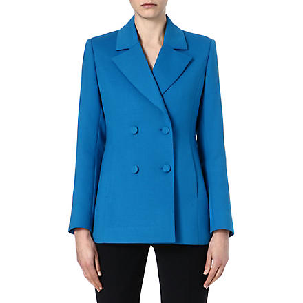 REISS Romoli pea coat (Blue