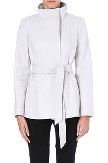REISS Hermitage belted wool jacket