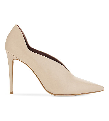 REISS Jil leather courts (Nude