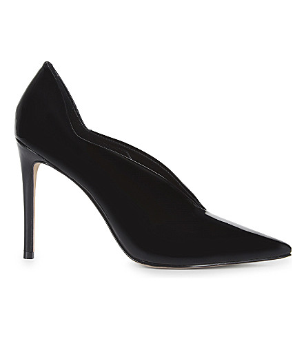 REISS Jil patent leather courts (Black