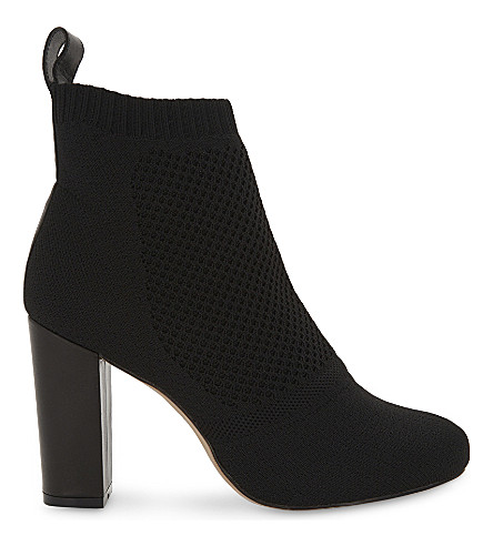 REISS Mercury knitted ankle boots (Black