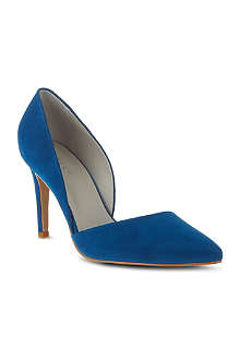 REISS Brina asymmetric court shoes