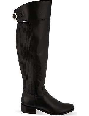 REISS Shaftesbury over-the-knee boots