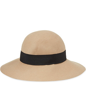 REISS Andrea wool floppy hat