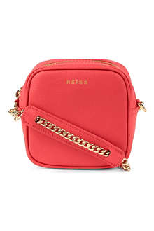 REISS Elouisa cross-body cube bag