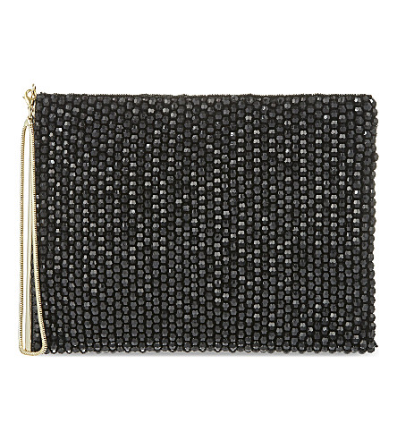 REISS Cindy clutch (Black