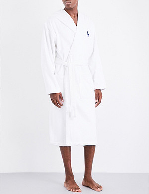 RALPH LAUREN HOME Big player bath robe white