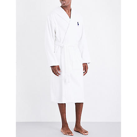RALPH LAUREN HOME Big player bath robe white (White