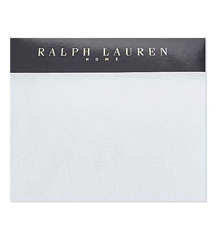 RALPH LAUREN HOME Glen Plaid duvet cover (White
