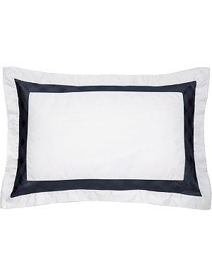 RALPH LAUREN HOME Glen Plaid boudoir sham pillowcase