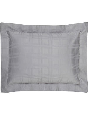 RALPH LAUREN HOME Glen Plaid boudoir sham pillowcase